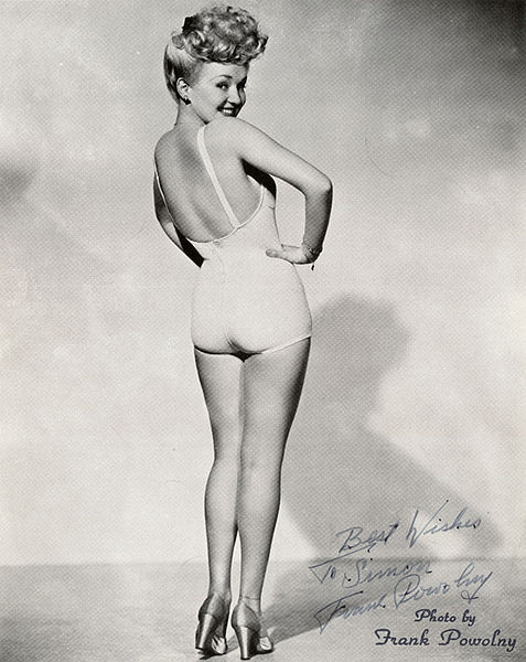 Betty Grable's legs