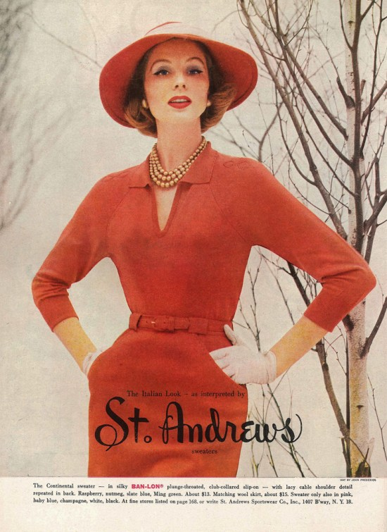 1950s Models And Their Measurements We Heart Vintage