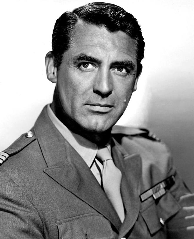 Cary Grant in army uniform