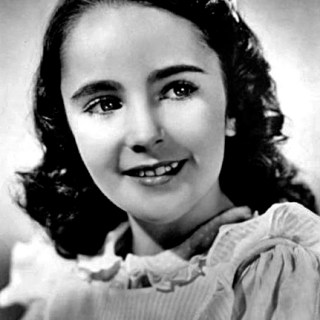 Child actor Elizabeth Taylor