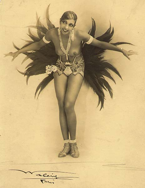 Josephine Baker in costume