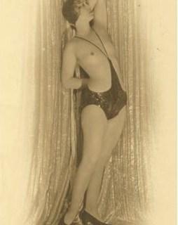 1920s monokini (topless swimsuit)