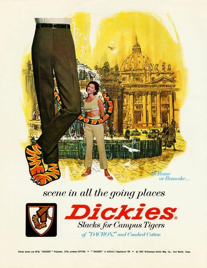 Dickies: Slacks for Campus Tigers