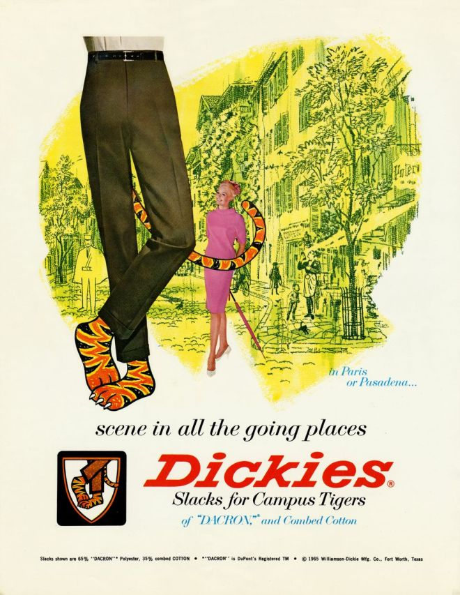 Dickies: Slacks for Campus Tigers
