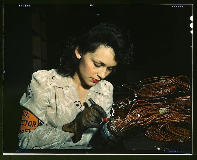 WW2 factory girl
