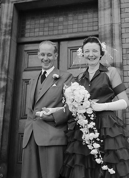 Vintage 1950s weddings