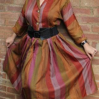 My vintage: 1950s dress