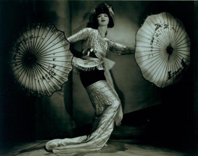 Dancer Ruth Saint Denis