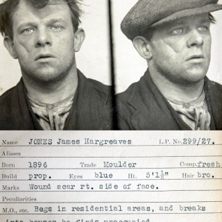 Cocky, The Sunderland Kid and Fatty Potter – 1930s mugshots