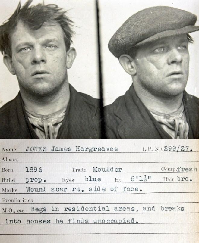 1930s criminal mugshots