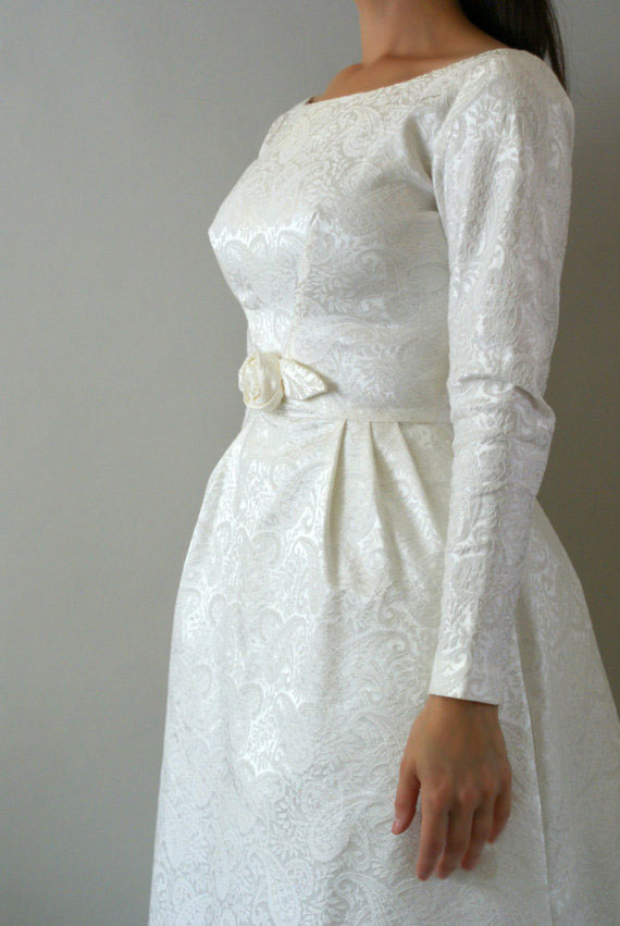 1960s Vintage Wedding Dress