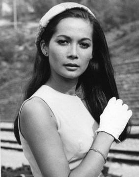 Nancy Kwan in the 1966 film Arrivederci, Baby!