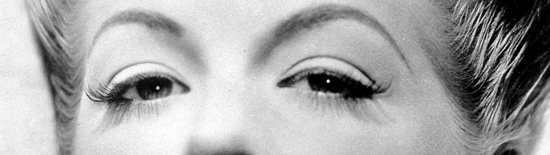 1940s eye makeup