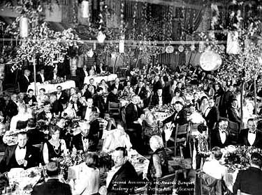 The 1st Annual Academy Awards Presentations on May 16, 1929, establishing this annual tradition which continues more than 80 years later