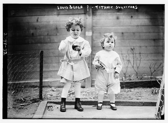Two survivors of the Titanic