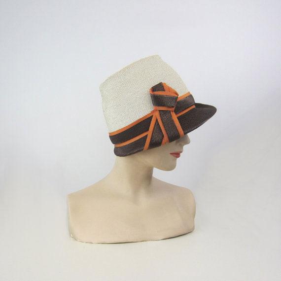 Vintage YVES SAINT LAURENT hat