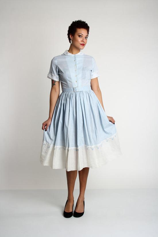 Vintage Mid Century Shirtwaist