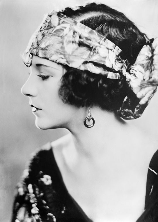 Silent Movie actress