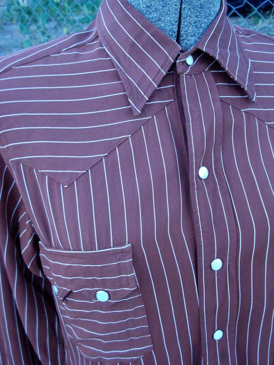 Vintage 1940s Mens Western Shirt