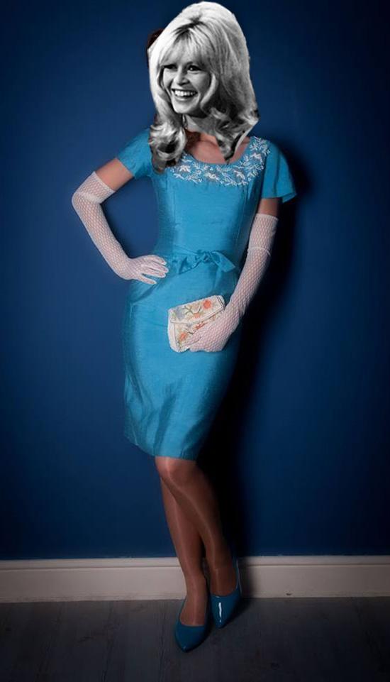 Vintage Paper Dolls: Brigitte Bardot