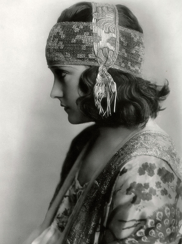 Actress Gloria Swanson in a frame or production still from the film Don't Change Your Husband (1919).