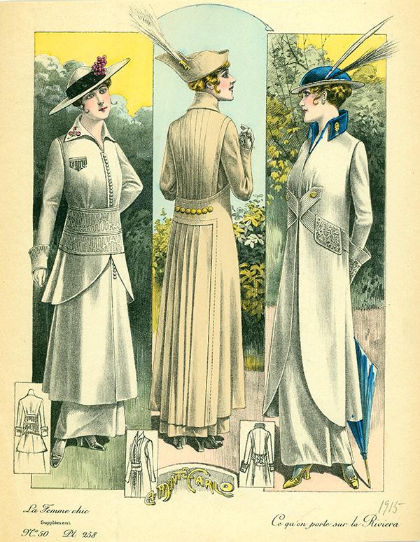 WW1 fashions