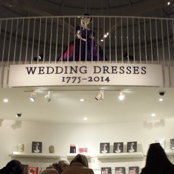V&A Wedding Dress Exhibition