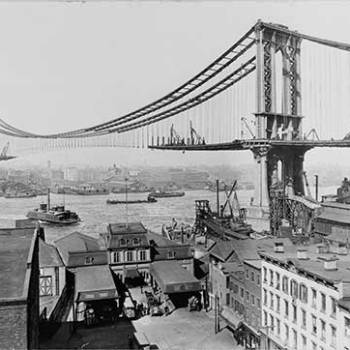 Building Manhattan Bridge (Without a Safety Harness) 1908