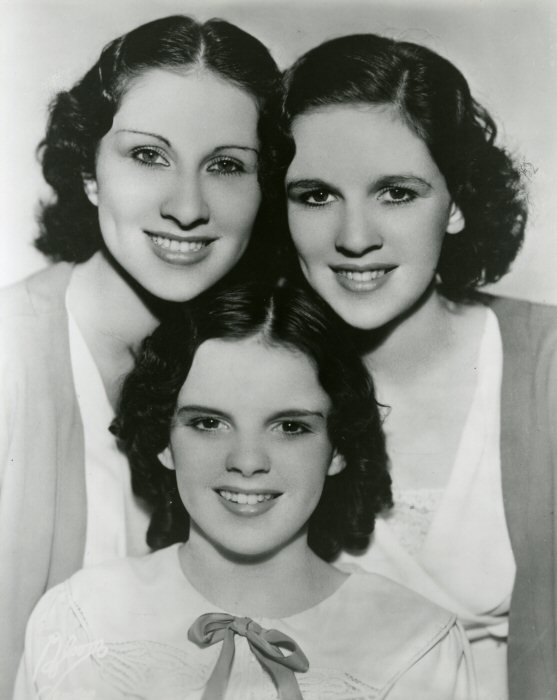 Young Judy Garland before she was famous