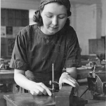 The Real Factory Women of Wartime London