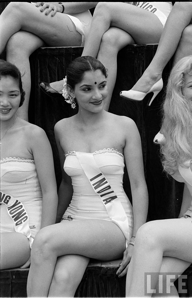 Miss India at Miss Universe 1952