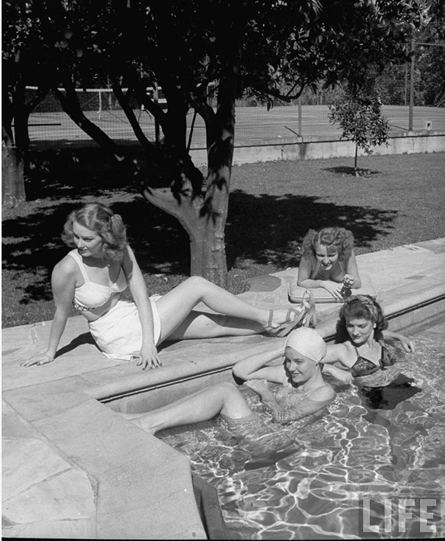1940s Hollywood starlets