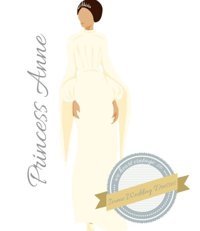 Iconic Wedding Dresses #10: Princess Anne