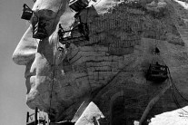 Building Mount Rushmore, 1940