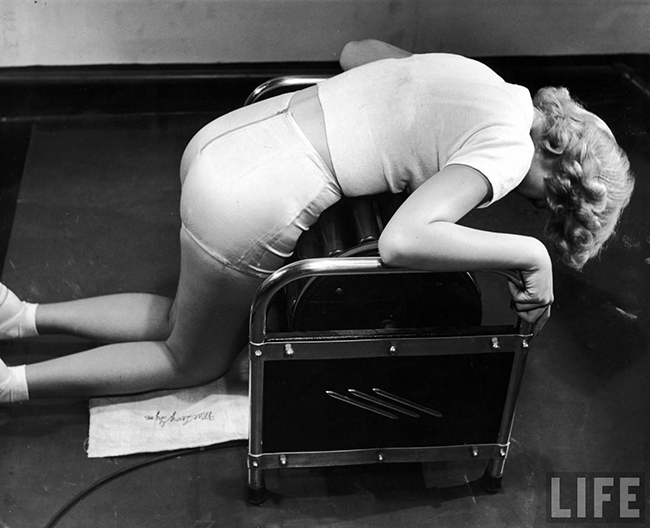 Slenderizing Salons of the 1940s
