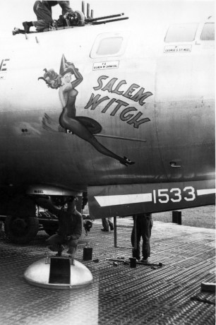Risqué Nose Art from WW2 Bombers (NSWF)
