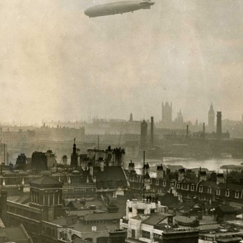 How The World Looked When Airships Filled The Sky
