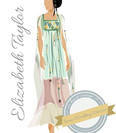 Iconic Wedding Dresses #9: Elizabeth Taylor (1975)
