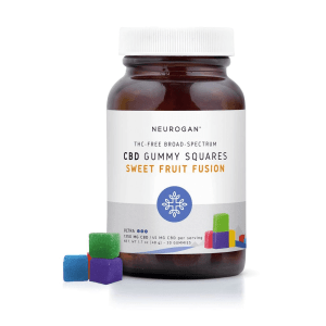 Neurogan - CBD Gummy Squares 1350mg (30ct)