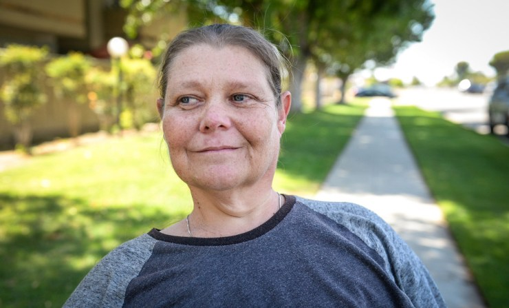 Section 8 voucher holder struggles to find an apartment in Fresno.