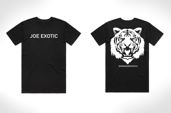 Joe Exotic and Odaingerous Clothing Line