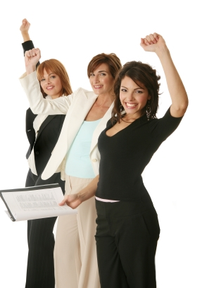 These are the awkwardly posed businessladies who wrecked our economy