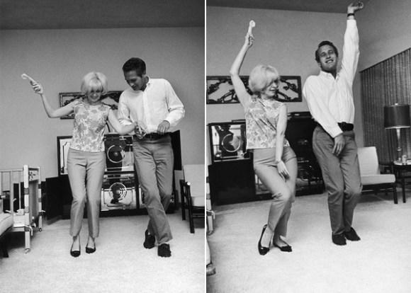 Paul Newman Joanne Woodward dance