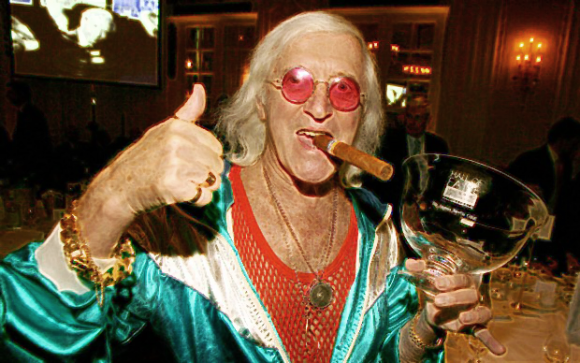 Jimmy Saville: The real victim? (Uh, no.)