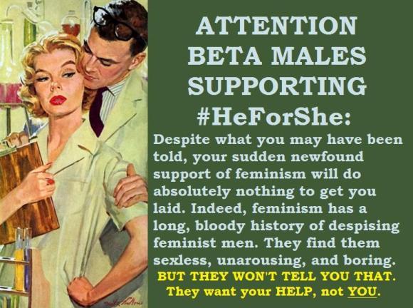 Feminism: the snooty nurse of ideologies.