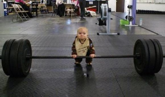 Do you even lift, baby?