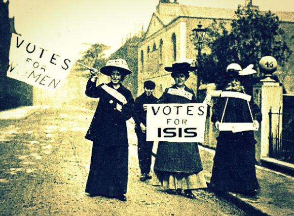 The Suffragettes: Secretly Muslim terrorists all along?