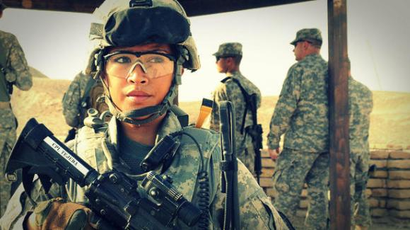 Women in the military: A threat to MRAs, not to feminists