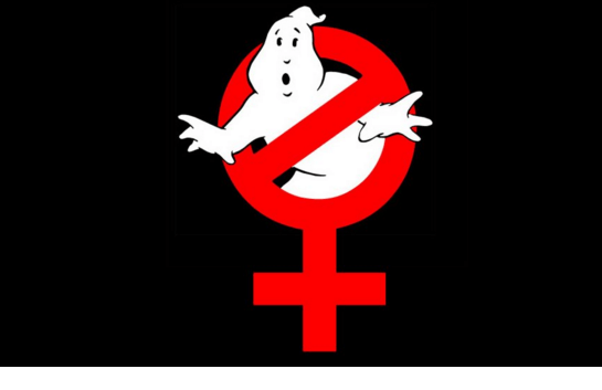 Dogs and cats living together ... female ghostbusters!