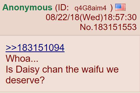 Whoa... Is Daisy chan the waifu we deserve?